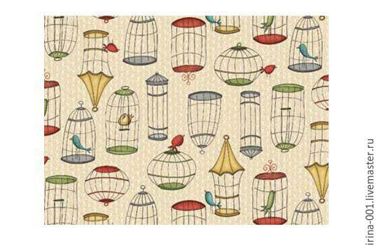 Шитье ручной работы. Ярмарка Мастеров - ручная работа. Купить Панель хлопок 60х110 см Кошки General Fabrics. Handmade.