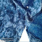 """Аксессуары ручной работы. Ярмарка Мастеров - ручная работа Шарф нуновойлок """"Зимний Джинс"""". Handmade."""