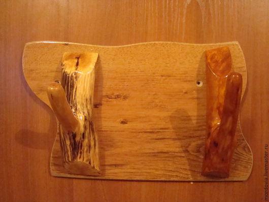 Прихожая ручной работы. Ярмарка Мастеров - ручная работа. Купить Вешалка деревянная. Handmade. Коричневый, вешалка
