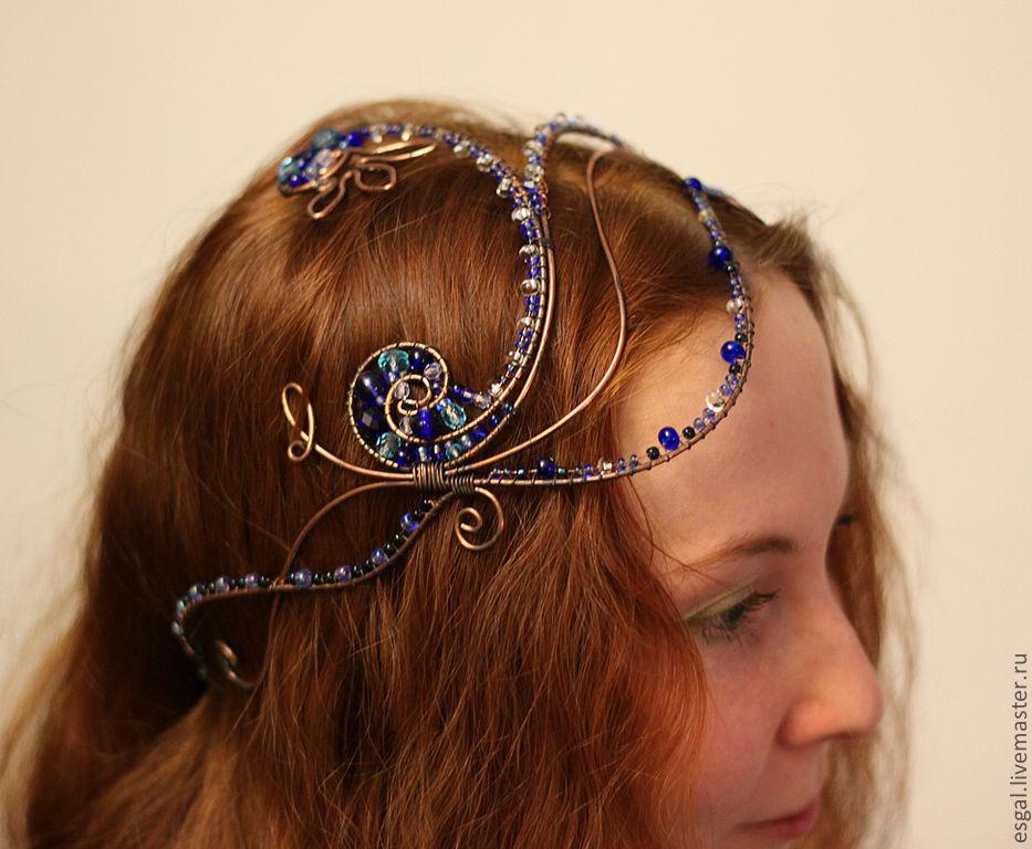 Восточные украшения для волос своими руками