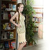 """Одежда ручной работы. Ярмарка Мастеров - ручная работа Платье """"Лето желтое"""". Handmade."""
