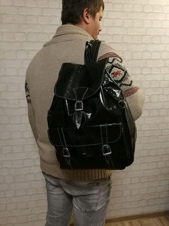 Дорожный рюкзак из натуральной кожи. Акция!, Рюкзаки, Уфа, Фото №1