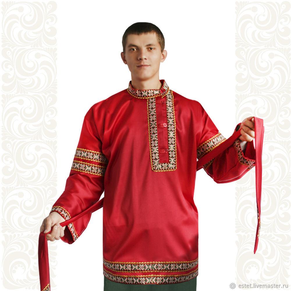 """Косоворотка """"Праздничный день"""", Народные рубахи, Королев,  Фото №1"""