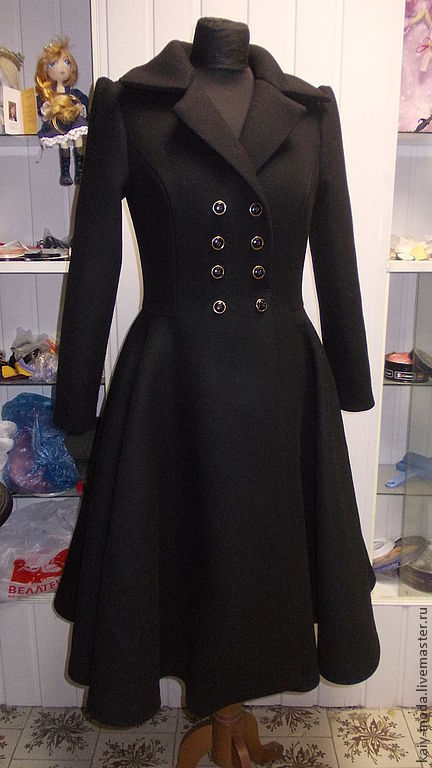 Winter coat 'A La Dior', Coats, Moscow,  Фото №1