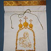 Работы для детей, handmade. Livemaster - original item pouch for storing. Handmade.
