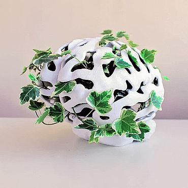 Flowers and floristry handmade. Livemaster - original item Flower Pot-brain. Handmade.