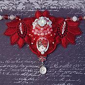"""Украшения ручной работы. Ярмарка Мастеров - ручная работа Колье ручной работы """"Carnevale di Venezia"""" вышивка бисером. Handmade."""