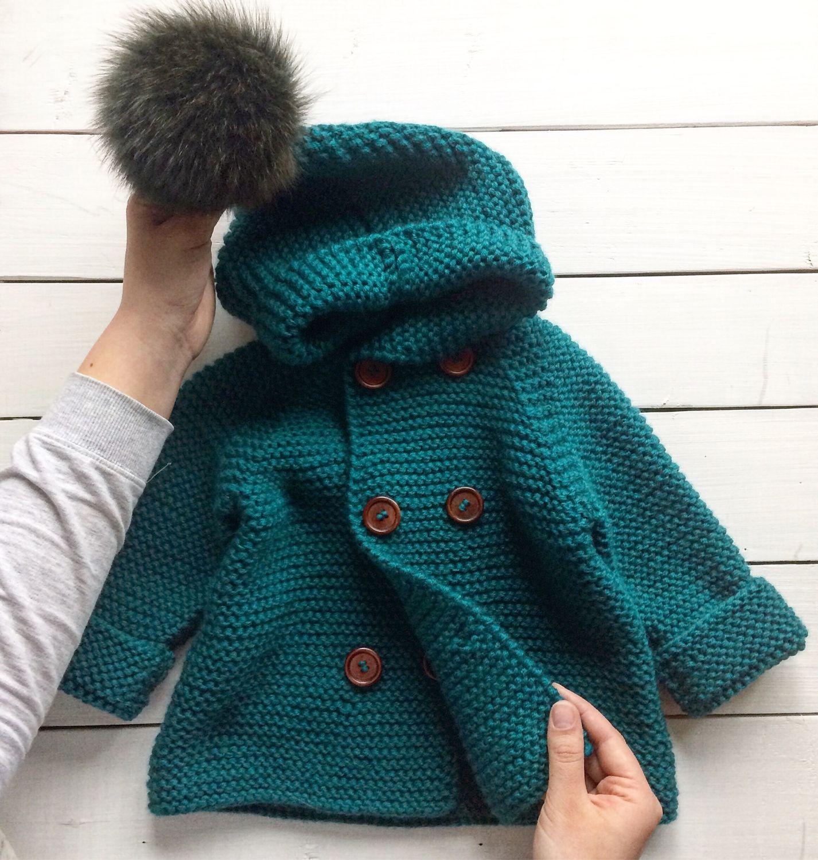 Вязаное пальто, Одежда для мальчиков, Санкт-Петербург, Фото №1