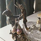 Украшения ручной работы. Ярмарка Мастеров - ручная работа Серьги  из жемчуга Касуми Колокола. Handmade.