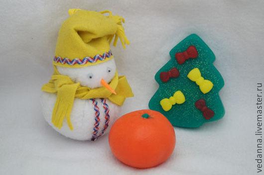 Мыло ручной работы. Ярмарка Мастеров - ручная работа. Купить мыло Новогоднее. Handmade. Мыло новогоднее, мыло в подарок