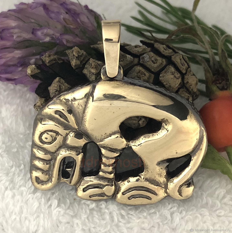 Scythian Bear charm talisman amulet made of metal, Amulet, Novosibirsk,  Фото №1