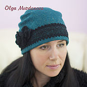 Аксессуары handmade. Livemaster - original item Felted hat