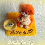 Куклы и игрушки ручной работы. Ярмарка Мастеров - ручная работа игрушка котенок Пуся. Handmade.