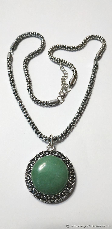 Beautiful pendant ' Jade', Pendant, Feodosia,  Фото №1