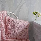 Для дома и интерьера ручной работы. Ярмарка Мастеров - ручная работа Детский комплект подушка+плед. Handmade.