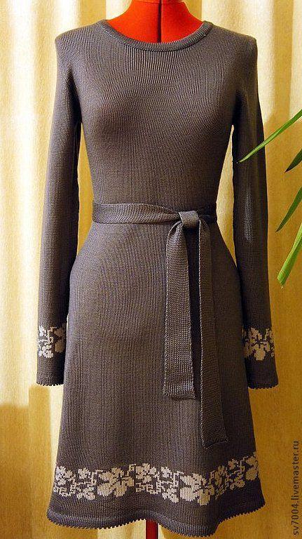 Платья ручной работы. Ярмарка Мастеров - ручная работа. Купить Платье вязаное. Handmade. Вязаные платья, стильные вещи