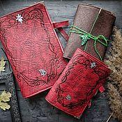 Канцелярские товары handmade. Livemaster - original item Scarlet Book West Limits. Handmade.