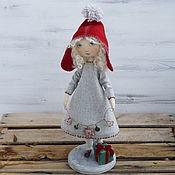 Куклы и игрушки ручной работы. Ярмарка Мастеров - ручная работа Кукла текстильная. Как Красная Шапочка.. Handmade.