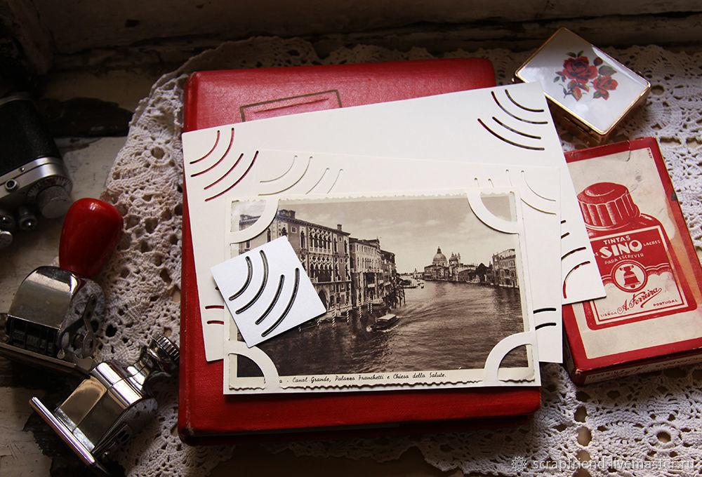 Нож для вырубки Прорези в старом фотоальбоме, Scrapfriend, Фотоальбомы, Санкт-Петербург,  Фото №1