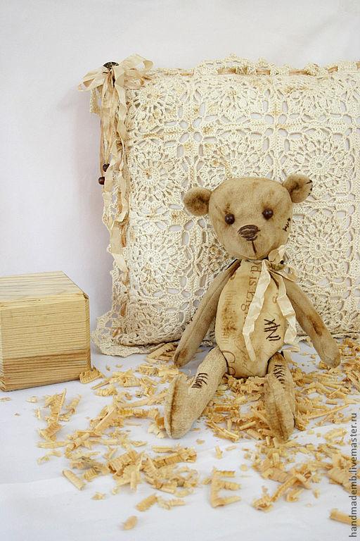 Мишки Тедди ручной работы. Ярмарка Мастеров - ручная работа. Купить История с чердака. Handmade. Бежевый, уютный дом