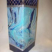 """Для дома и интерьера ручной работы. Ярмарка Мастеров - ручная работа Ваза """"Волны океана"""". Handmade."""