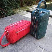 Классическая сумка ручной работы. Ярмарка Мастеров - ручная работа Сумка из кожи питона. Handmade.