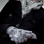 Аксессуары ручной работы. Ярмарка Мастеров - ручная работа Перчатки Маленькая ведьмочка. Handmade.