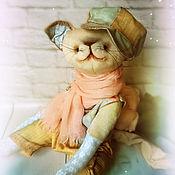 Куклы и игрушки ручной работы. Ярмарка Мастеров - ручная работа Тедди Котик Гаврош. Handmade.
