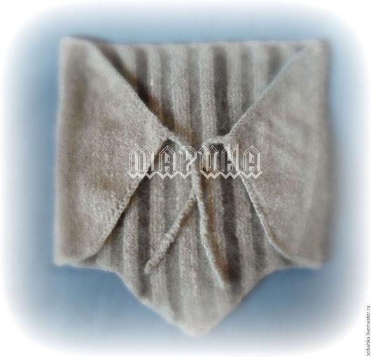 Пояса, ремни ручной работы. Ярмарка Мастеров - ручная работа. Купить пояс массажно-согревающий собачья шерсть. Handmade.