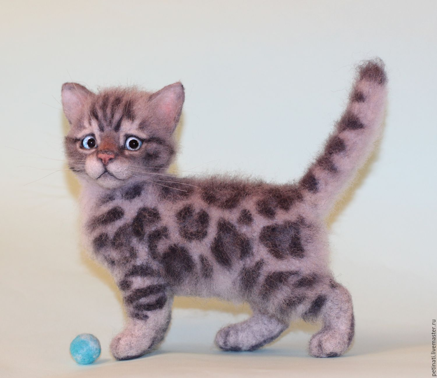 "Bengal kitten felt""Haines"" – shop online on Livemaster with ..."