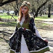 """Одежда ручной работы. Ярмарка Мастеров - ручная работа Платье""""Первая зелень"""". Handmade."""