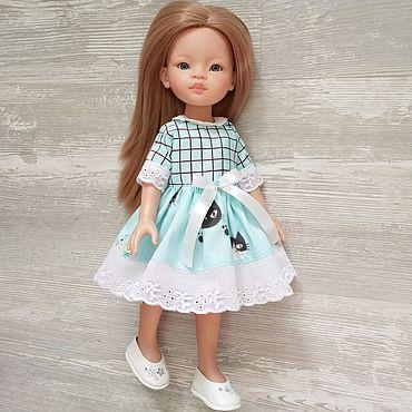 Куклы и игрушки ручной работы. Ярмарка Мастеров - ручная работа Платье для кукол 32-35см Паола Рейна и им подобным. Handmade.