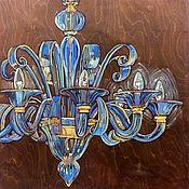 Картины и панно handmade. Livemaster - original item Oil painting for the interior. On a natural tree. pop art. Handmade.
