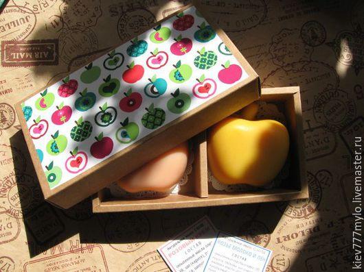 Мыло ручной работы. Ярмарка Мастеров - ручная работа. Купить Молодильные яблочки. Handmade. Розовый, мыло натуральное, подарок