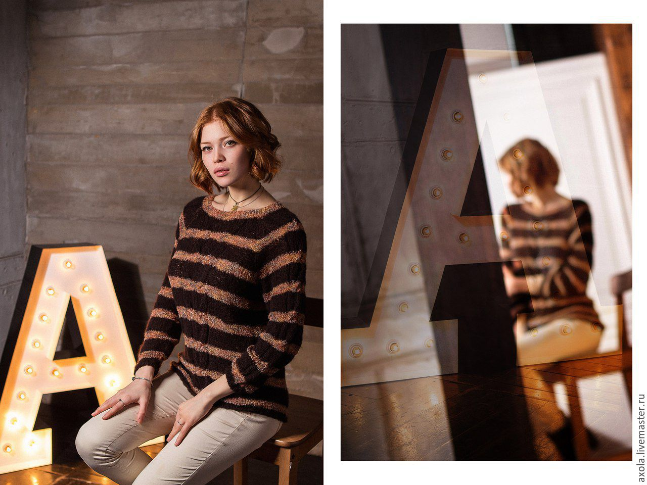 Женский пуловер с рукавом реглан с доставкой