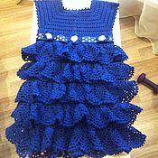 Работы для детей, ручной работы. Ярмарка Мастеров - ручная работа Платье для девочки 2-2,5 лет. Handmade.