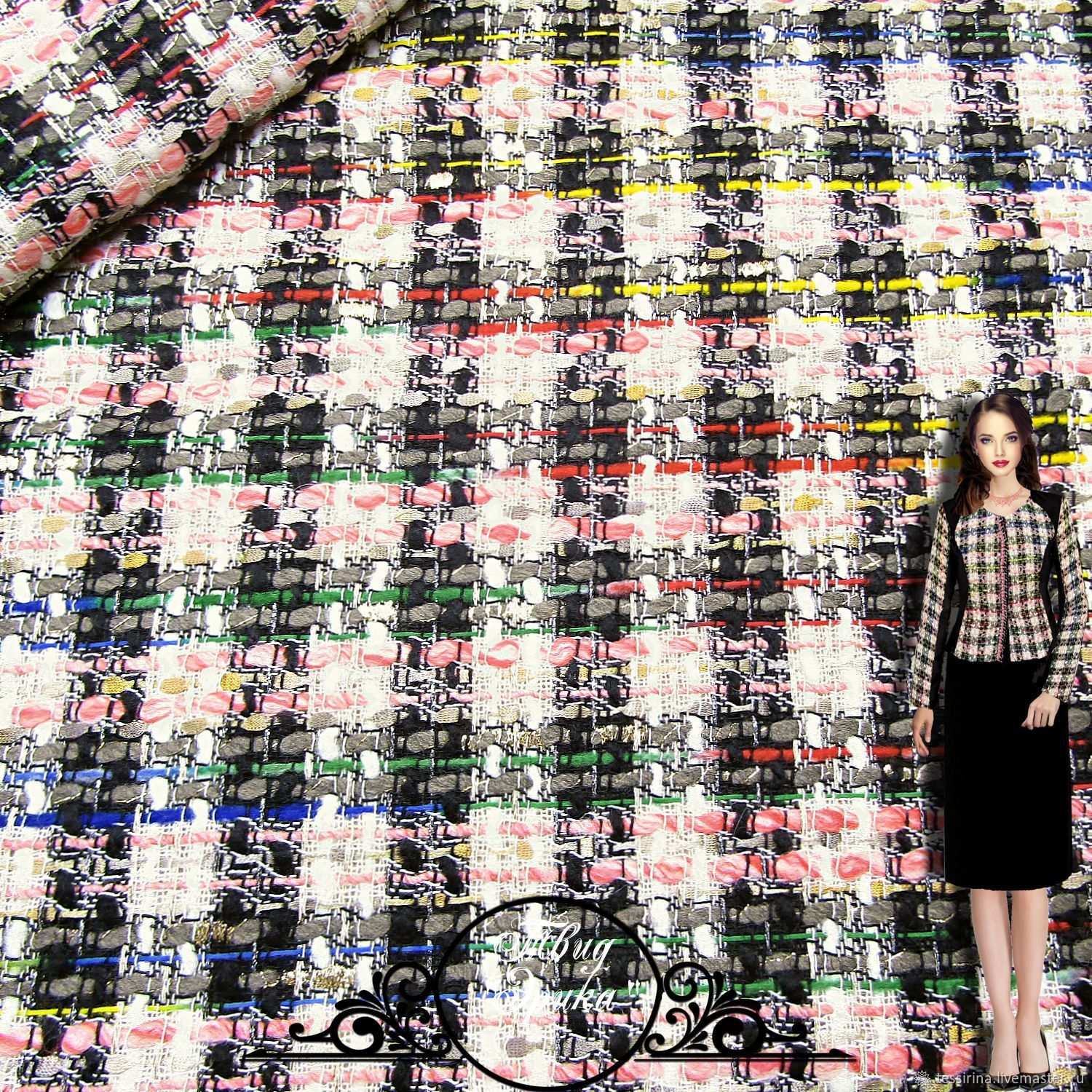7a680b68b2f0 Tweed Chanel – shop online on Livemaster with shipping - I4RTNCOM ...