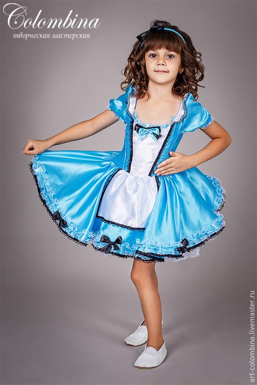 Алиса в стране чудес карнавальные костюмы для девочки