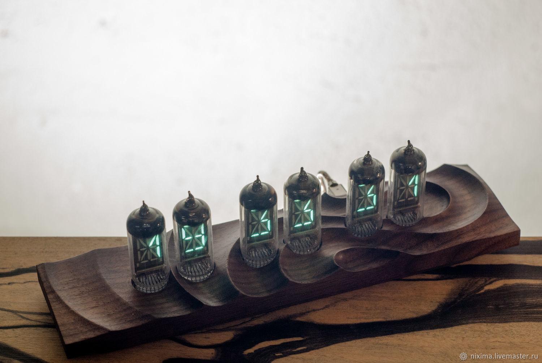 Часы на газоразрядных индикаторах ИВ 17, Часы классические, Ростов-на-Дону,  Фото №1