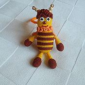 """Куклы и игрушки ручной работы. Ярмарка Мастеров - ручная работа Погремушка """"Пчелка """". Handmade."""