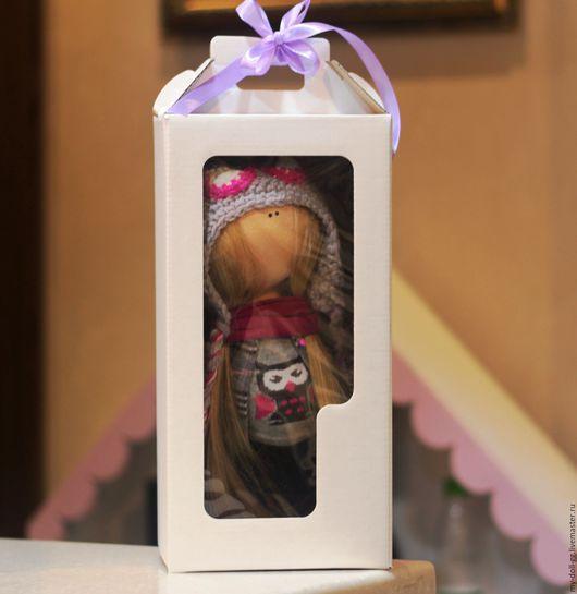 Куклы и игрушки ручной работы. Ярмарка Мастеров - ручная работа. Купить Коробка для кукол белая 30/12/15. Handmade. Коробка для куклы