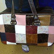 Сумки и аксессуары handmade. Livemaster - original item bag leather travel 149. Handmade.