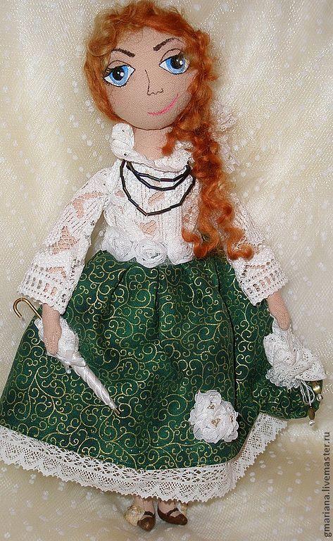 Куклы тыквоголовки ручной работы. Ярмарка Мастеров - ручная работа. Купить Кукла Маняша. Handmade. Кукла ручной работы, тыквоголовка