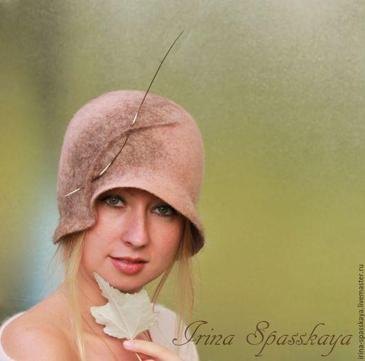 """Шляпы ручной работы. Ярмарка Мастеров - ручная работа. Купить Клош """"Розовый ручей"""" из коллекции """"Прошлые жизни"""". Handmade. Разноцветный"""