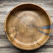 Чаши ручной работы. Ярмарка Мастеров - ручная работа Большая чаша из дуба. Handmade.