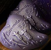 Косметика ручной работы. Ярмарка Мастеров - ручная работа Сувенирное мыло Лавандовое сердце. Handmade.
