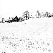 Картины и панно ручной работы. Ярмарка Мастеров - ручная работа Фотокартина Январь. Handmade.