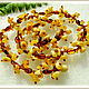 beads 'bumps' amber. Necklace. Frollena II. Natural Baltic amber. Online shopping on My Livemaster.  Фото №2