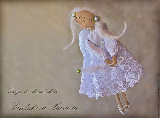 """Ароматизированные куклы ручной работы. Ярмарка Мастеров - ручная работа. Купить """"Ангел весеннего дождя"""" - авторская кофейная куколка. Handmade."""
