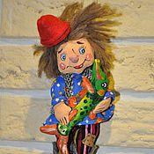 """Подарки к праздникам ручной работы. Ярмарка Мастеров - ручная работа """"Емеля"""" елочная игрушка. Handmade."""
